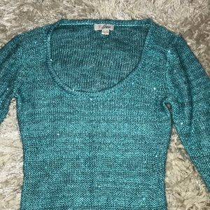 Guess Tops - Super cute sparkly sweater from guess